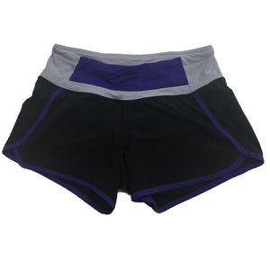 LuluLemon Running Speed Shorts Workout Warmup SZ S